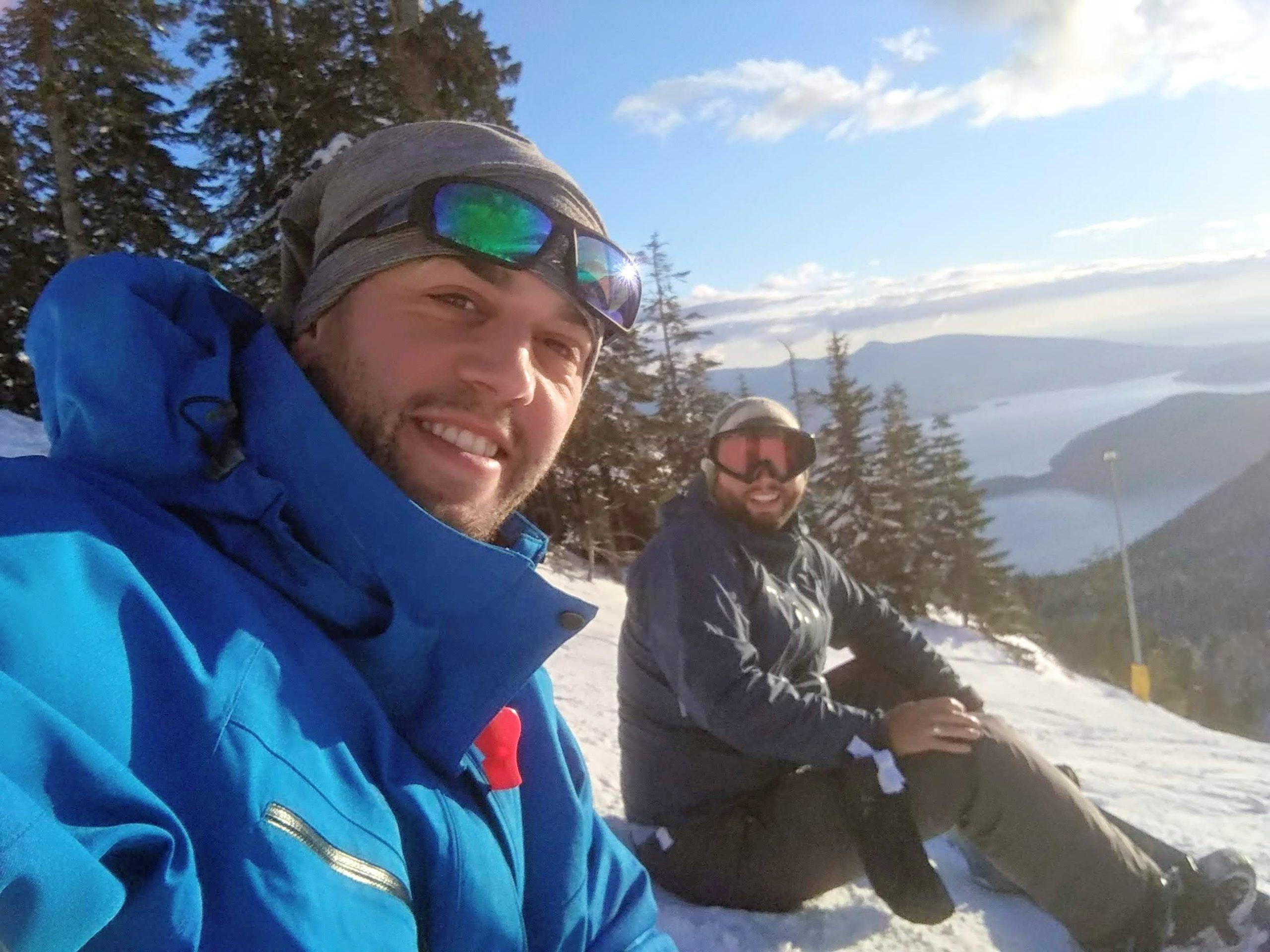 ben aston snowboarding