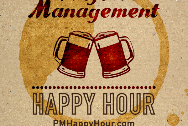 project management happy hour with ben aston